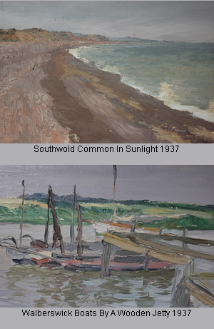 IN FOCUS: Henry Clarence Whaite's post-impressionist sketches of the East Suffolk Coast