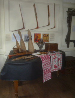 Carved and Coloured Art from Tsarist Lands: book launch and exhibition May 2009.