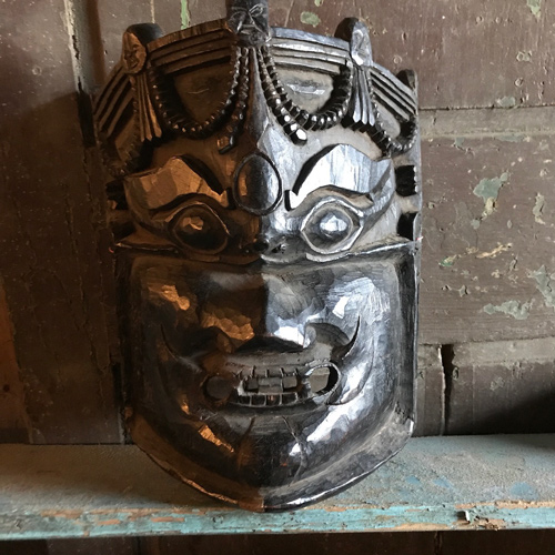 Antique Dance Mask