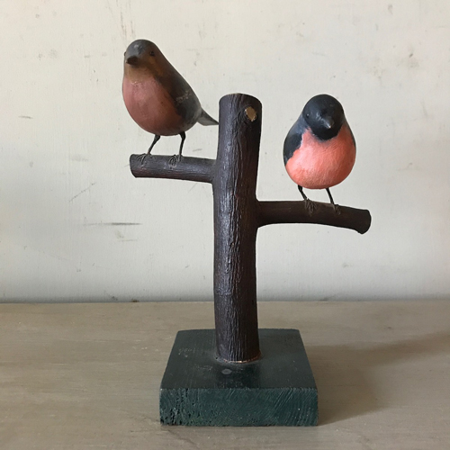 Bulfinches on Stand