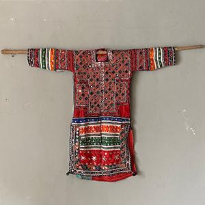 Nomad Tribal Dress with Mirrors amp Embroidery