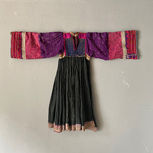 Nomad Tribal Marriage Dress with Embroidery