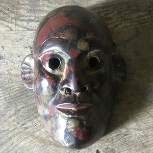 Painted Spirit Mask Bon Religion