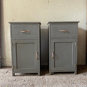 Pair of Custom Build Bedside Cabinets