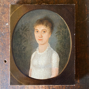Portrait of a Lady in Neo-Classical Style