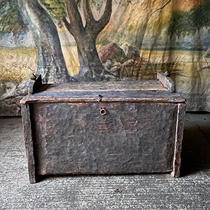 Primitive Chest or Box in Cedar Wood