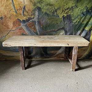Rare Early French Primitive Table