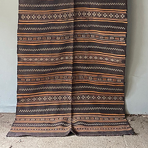 Shepherds Kilim in Earth Colours