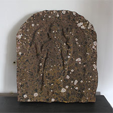 Wayside Carved Stone with Figure
